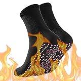 Sulens Selbstheizende Socken, Thermosocken für Unisex Winter Magnettherapie-Socken, warm, weich,...