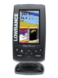 Lowrance Elite 4 hdi portables Echolot