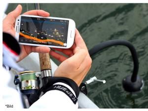 Handy Funk Echolot mit Fishfinder App ein echter Angelspaß