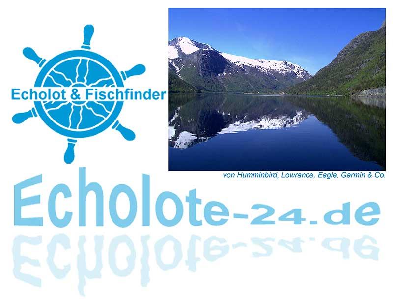 Echolot-Fischfinder Test