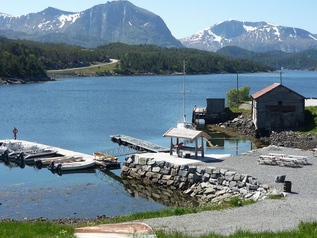 unser Angelrevier in Norwegen