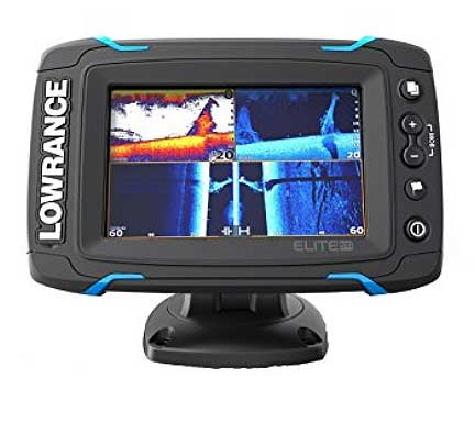 Lowrance Elite 5 Echolot-test