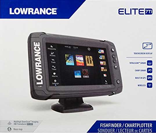 Lowrance Elite 7 Echolot mit Kartenplotter