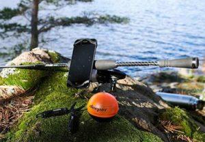 Echolot-zum-Ufer-Angeln Geschenkset für Angler ©deeper fishfinder bundle