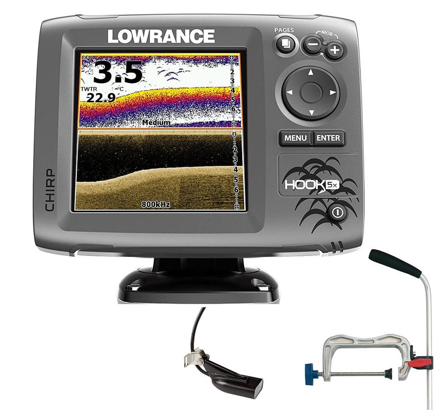 Lowrance Hook 5 Echolot